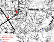 Продам земельный участок в центре г.Курска,  пл. 1,  62Га.