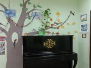 Пианино,  цвет черный лак